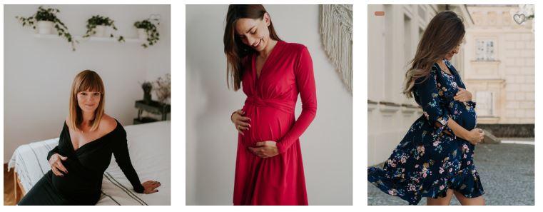 sukienka ciążowa na święta